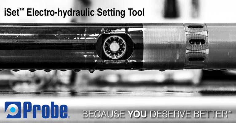 iSet™ Electro-hydraulic Setting Tool